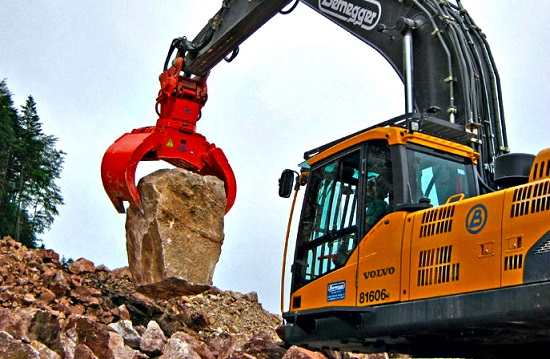 3 Benefits Of Excavator Grab Bucket