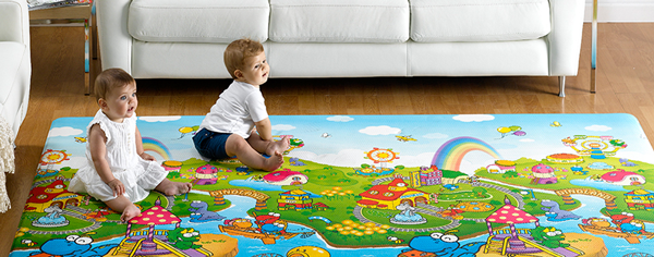 Top 3 Benefits Of A Baby Play Mat