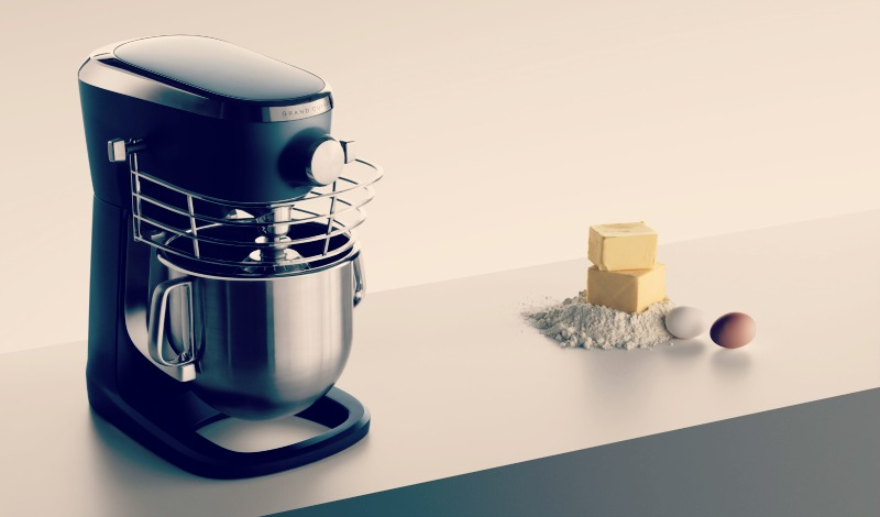 3 Benefits of Stand Food Mixers