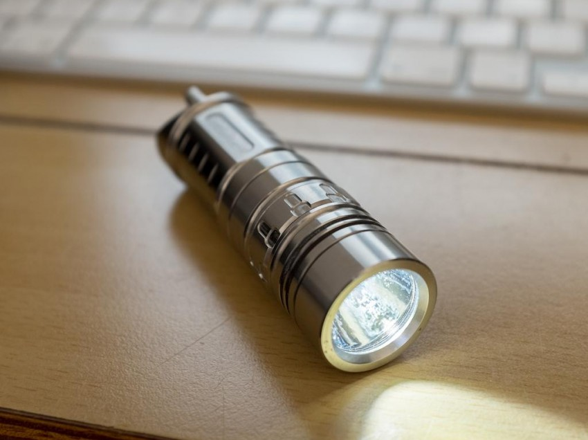 Titanium Flashlight: The Most Beneficial Buying Guide