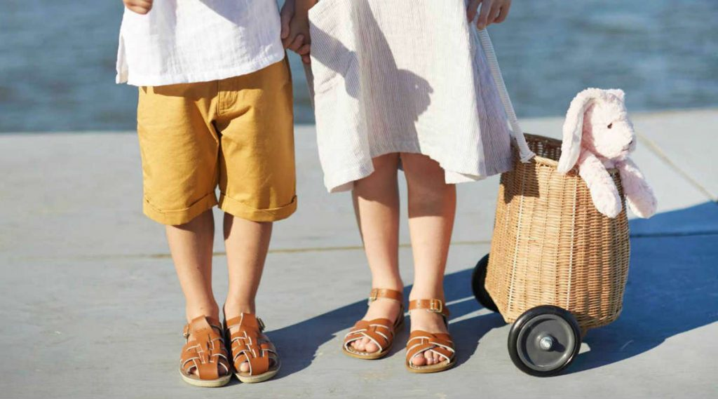 The Benefits of Salt-Water Sandals and