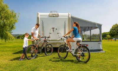 caravan bike rack - carry bike