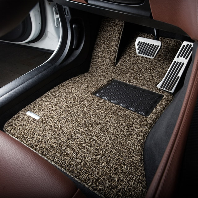 Non-Slip-Customised-Durable-Wire-Loop-Mats-Car-Floor-Carpets-for-Audi-A4L-A6L-A3-A8L