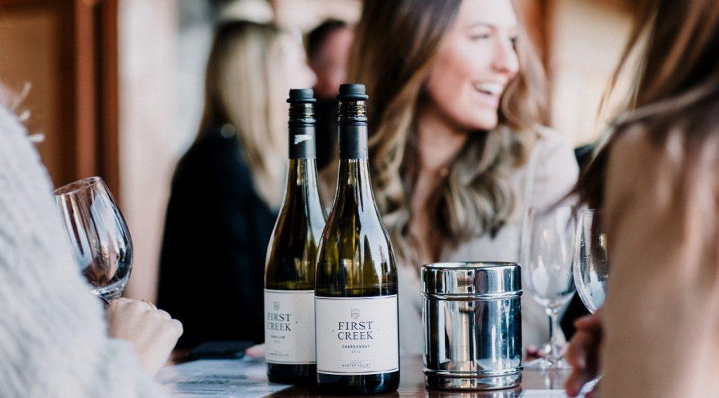 first creek chardonnay wine