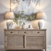 sideboards in the hallway