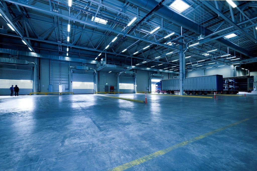 led warehouse applications