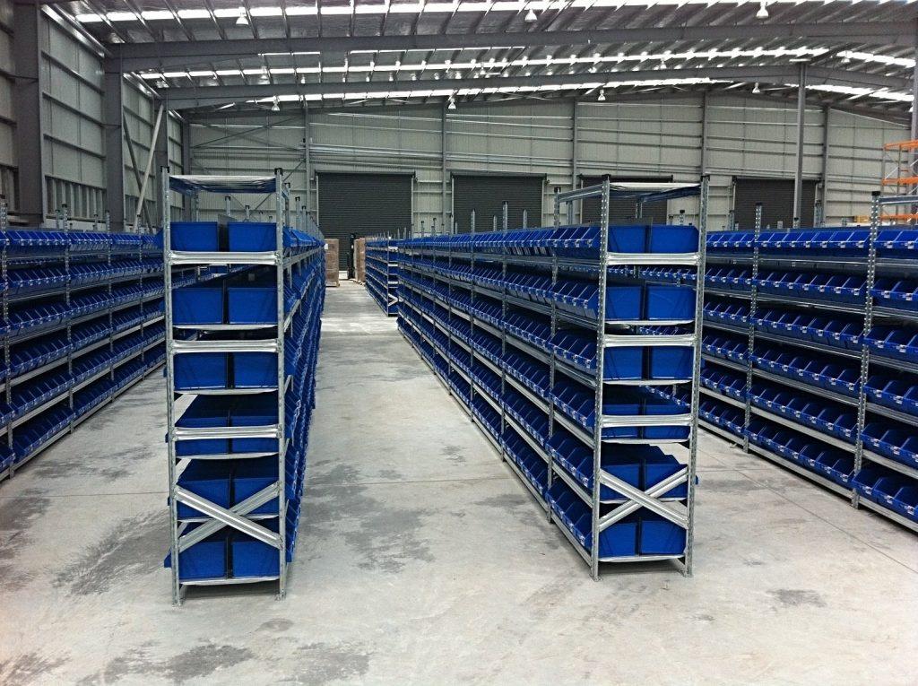 pallet racking system warehouse