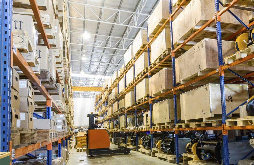 warehouse vertical storage