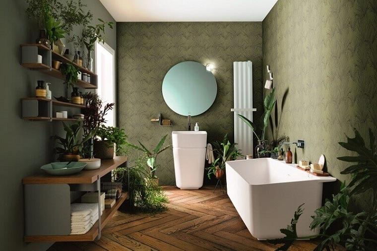 Bathroom-Greenery