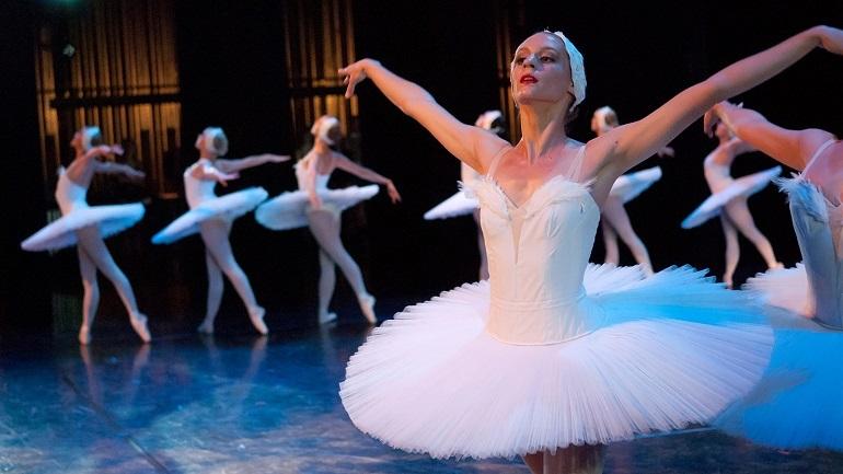 Ballerina in dance tutu