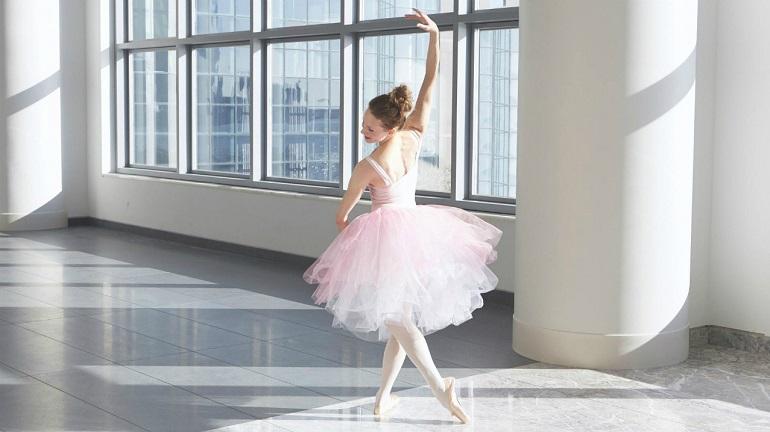 Practice dance tutu