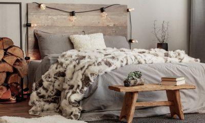 wood decoration bedroom