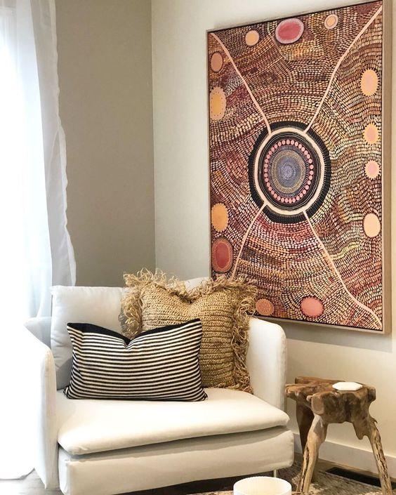 indigenous artwork home decor
