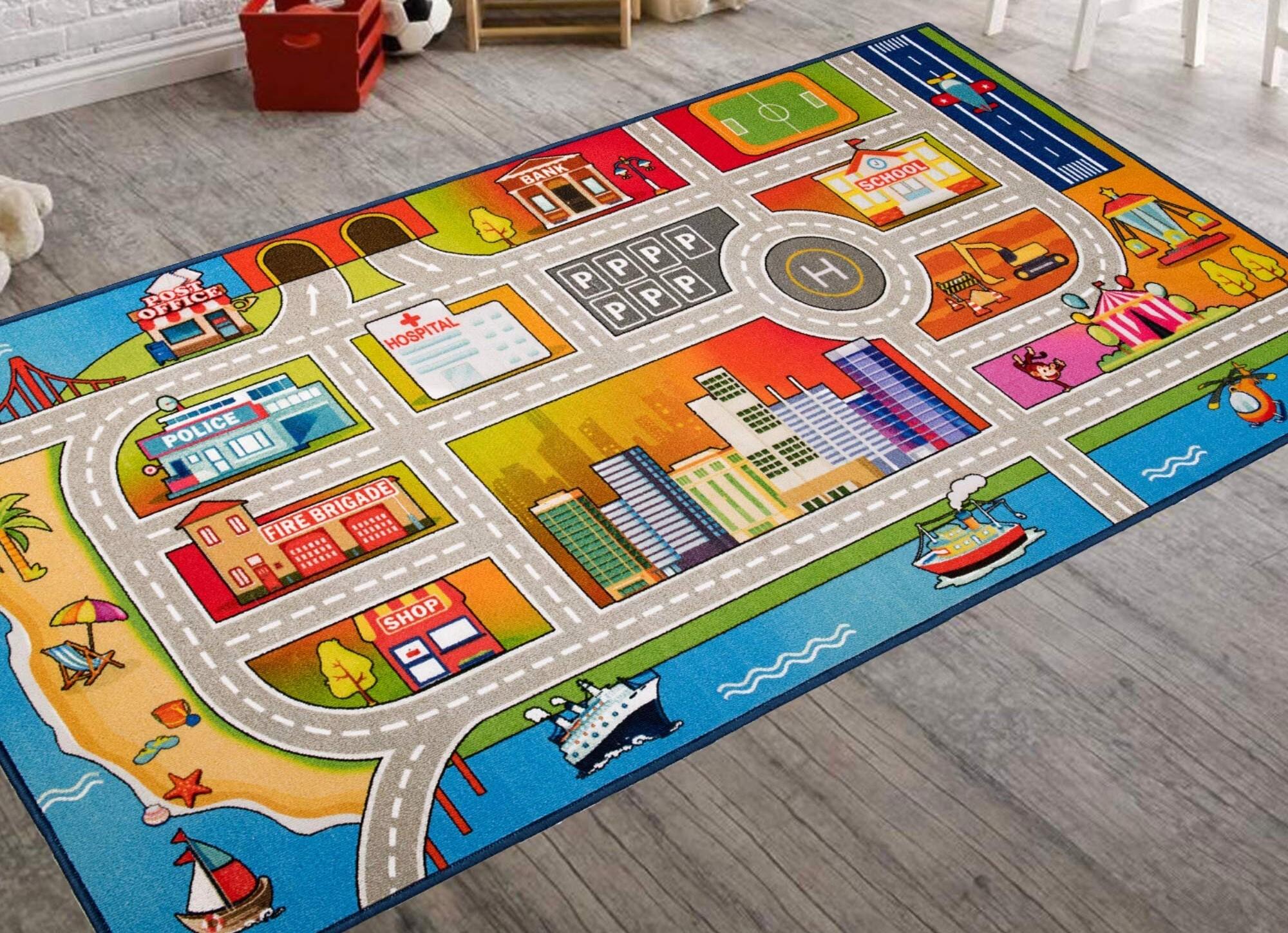 vivid colours kids- rugs