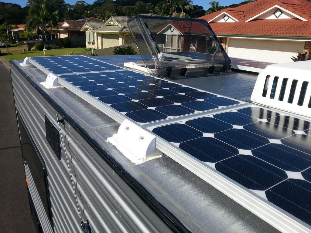 Solar Panels Camper Van